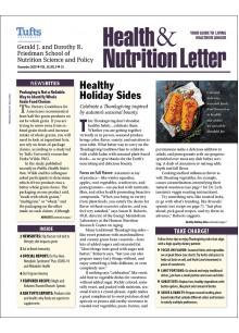 Tufts University Health & Nutrition Letter