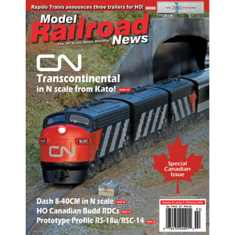 Give model railroad news magazine subscription save 43 for Online magazine subscription services