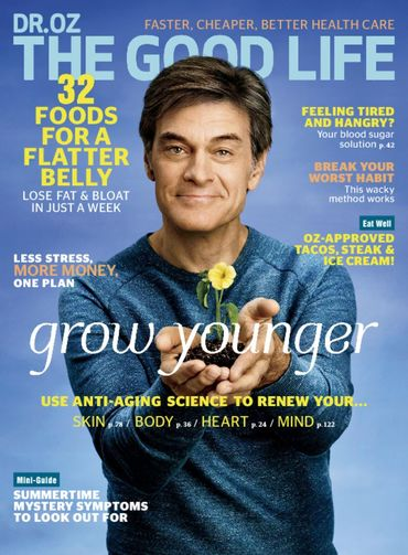 Give dr oz the good life magazine subscription save 50 online